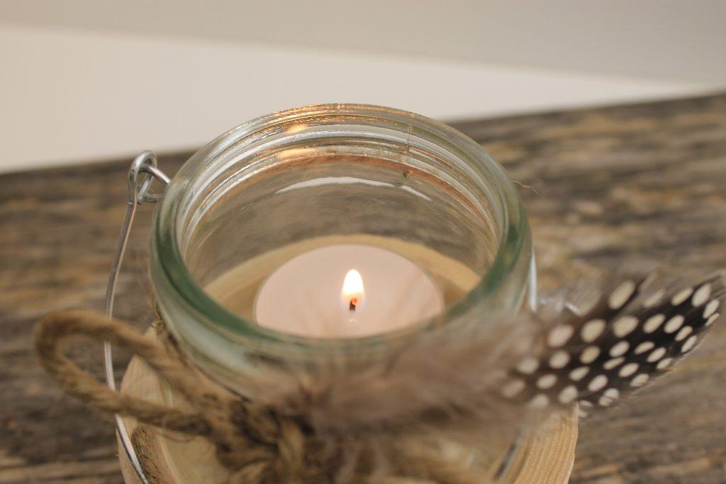 Brennendes Teelicht-gedrechselte Produkte