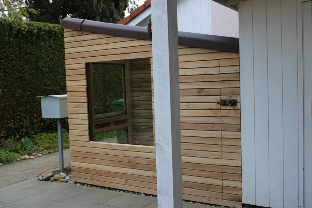 Ueli Scherrer plant für Sie ein Gartenhaus, das zu Ihnen passt.