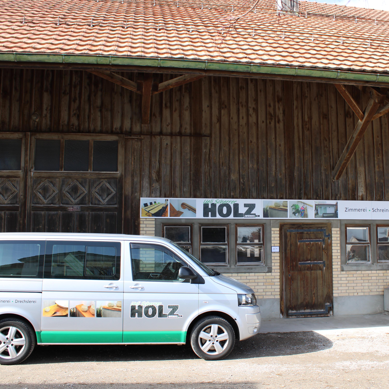 Schreinerei / Zimmerei / Drechslerei Ueli Scherrer Holz-Werke.ch GmbH am Hasenbergweg 4 in Kirchberg SG